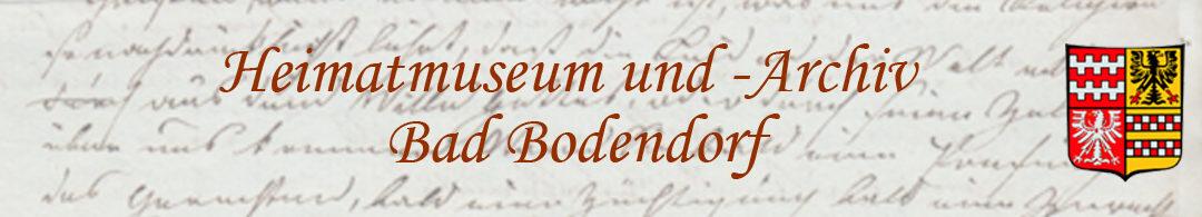 Heimatmuseum Bad Bodendorf